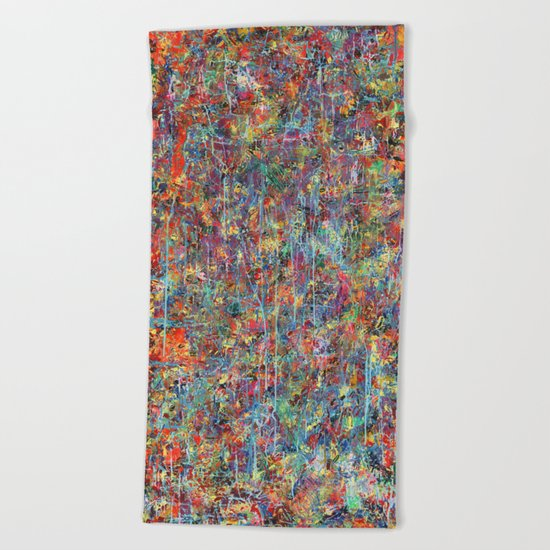 Acid Rain Beach Towel