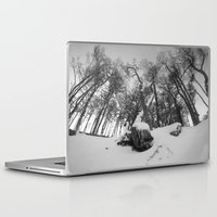 beaver Laptop & iPad Skins featuring Beaver Hill  by Diego Zalduondo