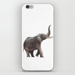 Elephant Drawing iPhone Skin