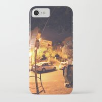 israel iPhone & iPod Cases featuring Massada St. - Israel by Camille Gilbert