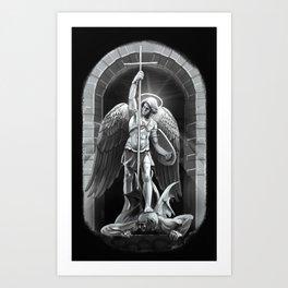 Archangel Michael  Kunstdrucke