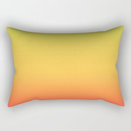 Tropical Colorful Gradient Pattern Rectangular Pillow
