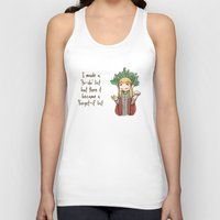 thranduil Tank Tops featuring Thranduil To-Do List  by BlacksSideshow