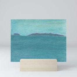 Santa Barbara Islands Mini Art Print