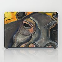 hippo iPad Cases featuring Hippo by Amy Wicherski