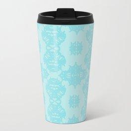 Blue Pattern 1 Travel Mug