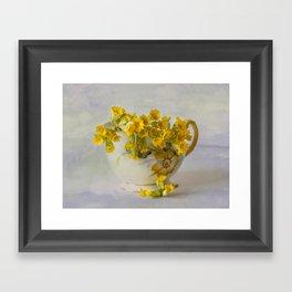Cowslips Framed Art Print