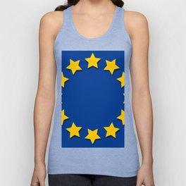 europe flag Unisex Tank Top