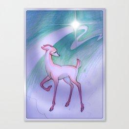 Deerling Star Canvas Print