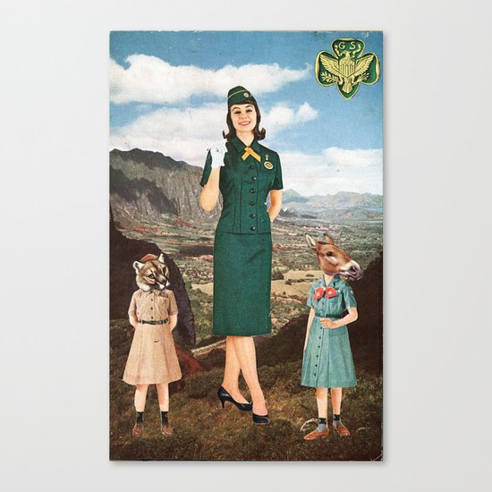 Girl Scouts of America Canvas Print