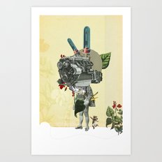 The truth is dead 3 Art Print