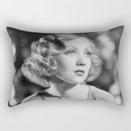 Ann Southern, Hollywood Starlet black and white photograph / black and white photography Rectangular Pillow