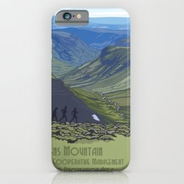 Vintage Poster - Steens Mountain Protection Area, Oregon (2015) iPhone Case