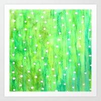 sprinkles Art Prints featuring Sprinkles by Rosie Brown