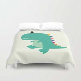 Dinocorn Duvet Cover