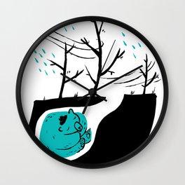 The last portuguese bear Wall Clock