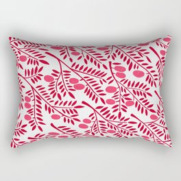 Olive Branches – Fiery Palette Rectangular Pillow