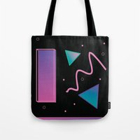 disco Tote Bags featuring disco by Hannah Siegfried