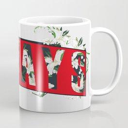 Always Lily Floral Coffee Mug