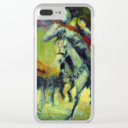 Caballero del tiempo Clear iPhone Case