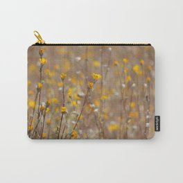Little Drops of Sunshine Coachella Valley Wildlife Preserve Carry-All Pouch