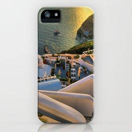 Santorini 1 iPhone Case