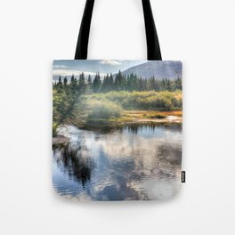Fall Fly Fishing in Maine Tote Bag
