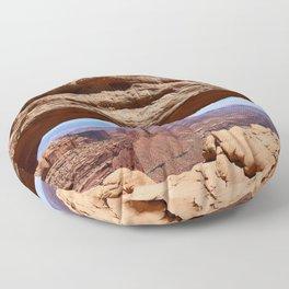Mesa Arch View Floor Pillow