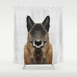 Malinois - Belgian Shepherd Shower Curtain