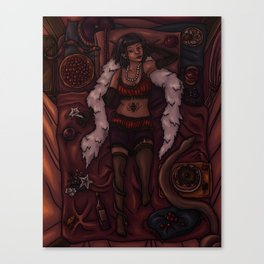 The Poison Eater Canvas Print