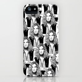Layne Staley (Grunge Collection) iPhone Case