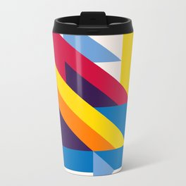Abstract modern geometric background. Composition 20 Metal Travel Mug
