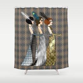 Art Deco Trio Shower Curtain