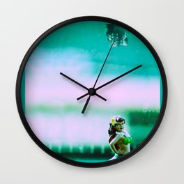 Hula Girl Wall Clock