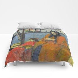 Schuffenecker Family by Paul Gauguin Comforters