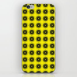 Yellow Custom Pattern iPhone Skin