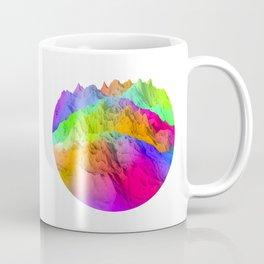 Holopunk Mountains Coffee Mug