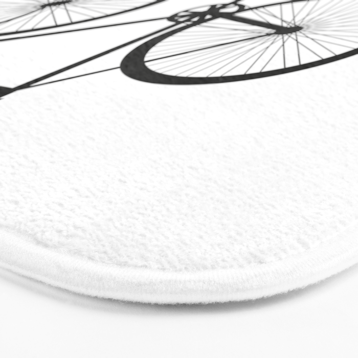 They See Me Rollin' Bicycle - Men's Fixie Fixed Gear Bike Cycling Bath Mat