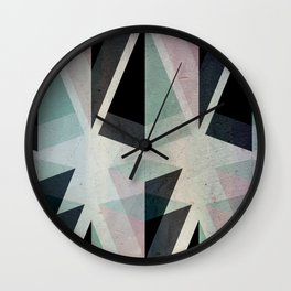 Solids Invasion Wall Clock