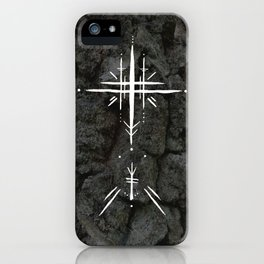 Rune Cross iPhone Case