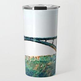 Catanzaro: Morandi bridge Travel Mug