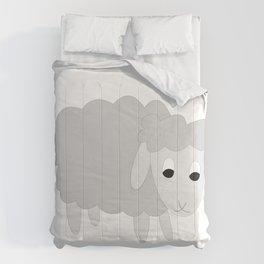 GREY SHELLY SHEEP Comforters