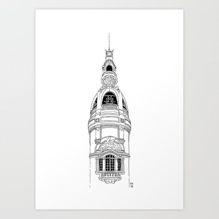 Lieu Unique, Nantes Art Print