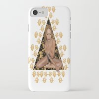 rose gold iPhone & iPod Cases featuring Rose Gold by Shannice Wollcock