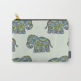 Indian elephants Carry-All Pouch
