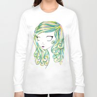 fairy Long Sleeve T-shirts featuring Fairy by Caitlin Roberts