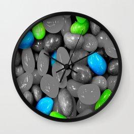 Blue jelly Wall Clock