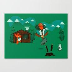 Chop! Canvas Print