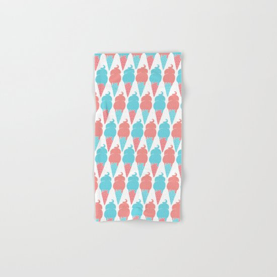 Ice cream pattern Hand & Bath Towel