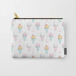 Cutest Ice cream Pattern Illustration ever Carry-All Pouch